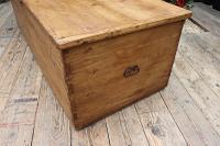Mega Trunk! Huge! Old Pine Blanket Box / Chest / Table / Storage - We Deliver! (6 of 10)