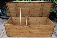 Mega Trunk! Huge! Old Pine Blanket Box / Chest / Table / Storage - We Deliver! (7 of 10)