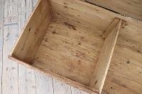 Mega Trunk! Huge! Old Pine Blanket Box / Chest / Table / Storage - We Deliver! (8 of 10)
