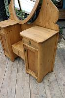 Fabulous Old Pine Adjustable Mirrored Dressing Table - We Deliver! (4 of 9)
