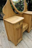 Fabulous Old Pine Adjustable Mirrored Dressing Table - We Deliver! (7 of 9)