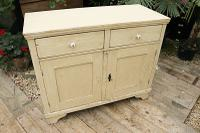 Fabulous Old Pine & Painted Dresser Base Sideboard / Cupboard - We Deliver (2 of 9)