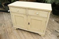 Fabulous Old Pine & Painted Dresser Base Sideboard / Cupboard - We Deliver (3 of 9)