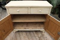 Fabulous Old Pine & Painted Dresser Base Sideboard / Cupboard - We Deliver (6 of 9)