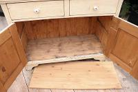 Fabulous Old Pine & Painted Dresser Base Sideboard / Cupboard - We Deliver (7 of 9)