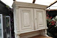 Amazing! Very Old 2 Piece Pine / Painted Dresser / Cupboard / Cabinet - We Deliver! (14 of 15)