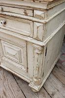 Amazing! Very Old 2 Piece Pine / Painted Dresser / Cupboard / Cabinet - We Deliver! (13 of 15)