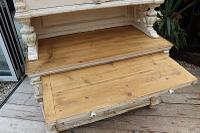 Amazing! Very Old 2 Piece Pine / Painted Dresser / Cupboard / Cabinet - We Deliver! (9 of 15)