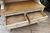 Amazing! Very Old 2 Piece Pine / Painted Dresser / Cupboard / Cabinet - We Deliver! (15 of 15)
