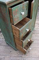 Fab! Old Pine / Green Painted Base / Cabinet / Food Cupboard / Sideboard - We Deliver (8 of 12)