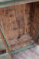 Fab! Old Pine / Green Painted Base / Cabinet / Food Cupboard / Sideboard - We Deliver (10 of 12)