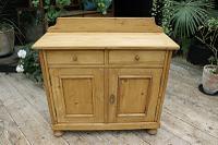 Small! Old Pine Dresser Base / Sideboard / Cupboard / Cabinet / TV Stand - We Deliver! (3 of 8)