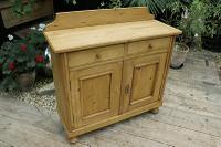 Small! Old Pine Dresser Base / Sideboard / Cupboard / Cabinet / TV Stand - We Deliver! (2 of 8)
