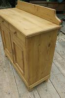 Small! Old Pine Dresser Base / Sideboard / Cupboard / Cabinet / TV Stand - We Deliver! (4 of 8)