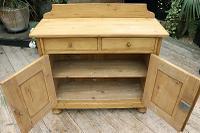 Small! Old Pine Dresser Base / Sideboard / Cupboard / Cabinet / TV Stand - We Deliver! (7 of 8)