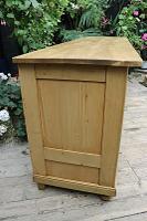 Big! Old 2M Antique Pine Dresser Base Sideboard / Cupboard / TV Stand - We Deliver! (5 of 13)