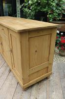 Big! Old 2M Antique Pine Dresser Base Sideboard / Cupboard / TV Stand - We Deliver! (6 of 13)