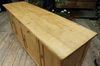 Big! Old 2M Antique Pine Dresser Base Sideboard / Cupboard / TV Stand - We Deliver! (7 of 13)