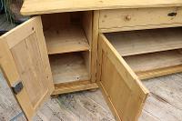 Big! Old 2M Antique Pine Dresser Base Sideboard / Cupboard / TV Stand - We Deliver! (10 of 13)