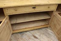 Big! Old 2M Antique Pine Dresser Base Sideboard / Cupboard / TV Stand - We Deliver! (11 of 13)