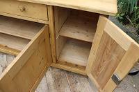 Big! Old 2M Antique Pine Dresser Base Sideboard / Cupboard / TV Stand - We Deliver! (12 of 13)