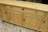 Big! Old 2M Antique Pine Dresser Base Sideboard / Cupboard / TV Stand - We Deliver! (2 of 13)