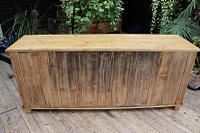 Big! Old 2M Antique Pine Dresser Base Sideboard / Cupboard / TV Stand - We Deliver! (13 of 13)