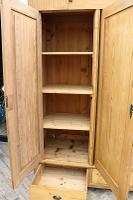 Huge! Quality! Old Pine Triple Knock Down' Wardrobe - We Deliver / Assemble (7 of 15)