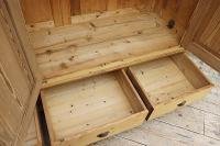 Huge! Quality! Old Pine Triple Knock Down' Wardrobe - We Deliver / Assemble (9 of 15)