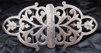 1900 Hallmarked Solid Silver Nurses Belt Buckle Haseler Brothers