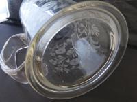 Large Victorian Antique Masonic 1 1/2 Pint Glass Tankard c.1860 (10 of 11)