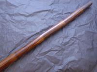 Walking Stick Cane 18ct Gold Button Top Pommel Partridge Wood Shaft C.1837 (9 of 11)