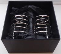 Pair of 1912 Solid Hallmarked Silver Toast Racks William Hutton 96.4g (9 of 9)