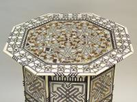 Fabulous Antique Inlaid Syrian Mother of Pearl Table (9 of 9)