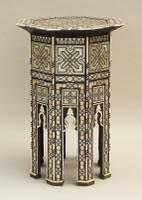Fabulous Antique Inlaid Syrian Mother of Pearl Table