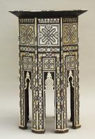 Fabulous Antique Inlaid Syrian Mother of Pearl Table (3 of 9)