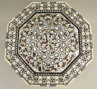 Fabulous Antique Inlaid Syrian Mother of Pearl Table (5 of 9)