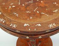 Antique Chinese Hardwood Table with Mother of Pearl Inlay (2 of 8)
