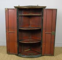 George III Painted Corner Cupboard (4 of 6)