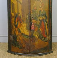 George III Painted Corner Cupboard (6 of 6)