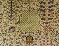 Antique Tabriz Carpet Room Size (6 of 10)