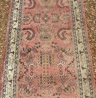 Antique Silk Runner Carpet 7m (4 of 6)