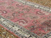 Antique Silk Runner Carpet 7m (5 of 6)