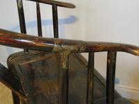 Good Pair of Chinese Horseshoe Armchairs c.1890 (5 of 5)