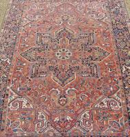 Antique Heriz Carpet Room Size (2 of 10)