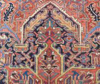 Antique Heriz Carpet Room Size (8 of 10)