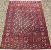 Turkoman Carpet Room Size c.1930 (2 of 7)