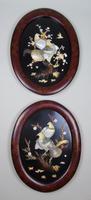 Good Pair of Japanese Shibayama Plaques Meiji (2 of 8)