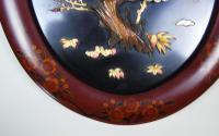 Good Pair of Japanese Shibayama Plaques Meiji (5 of 8)
