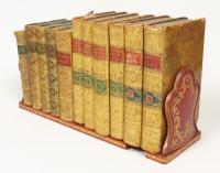 Antique Leather Book Slide Dreyfous of Paris (6 of 9)